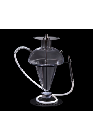 Oduman N5-Z Şeffaf Çelik Nargile Takımı